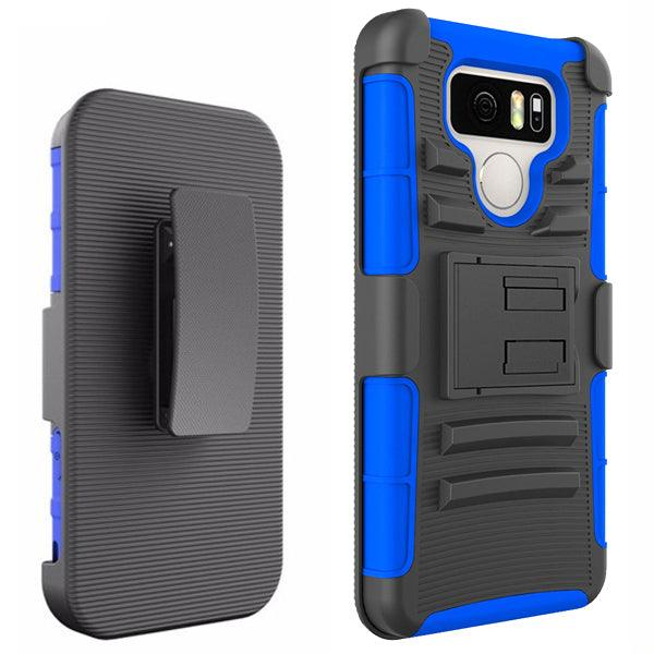 LG G6 Armor Belt Clip Holster Case by Modes