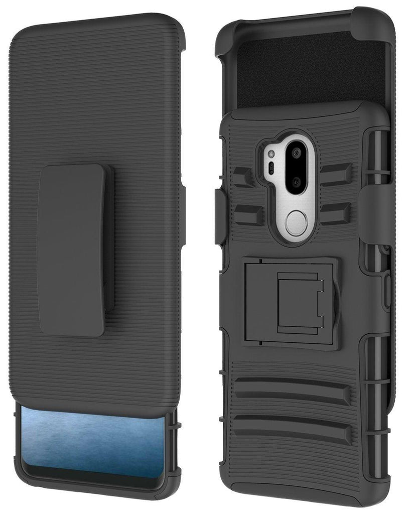 LG G7 ThinQ Armor Belt Clip Holster Case by Modes