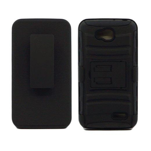 LG Optimus L90 Armor Belt Clip Holster Case Black by Modes