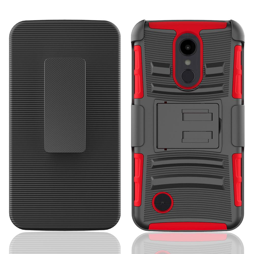 LG Aristo 2 / X210 / Tribute Dynasty / K8 2018 Armor Belt Clip Holster Case by Modes