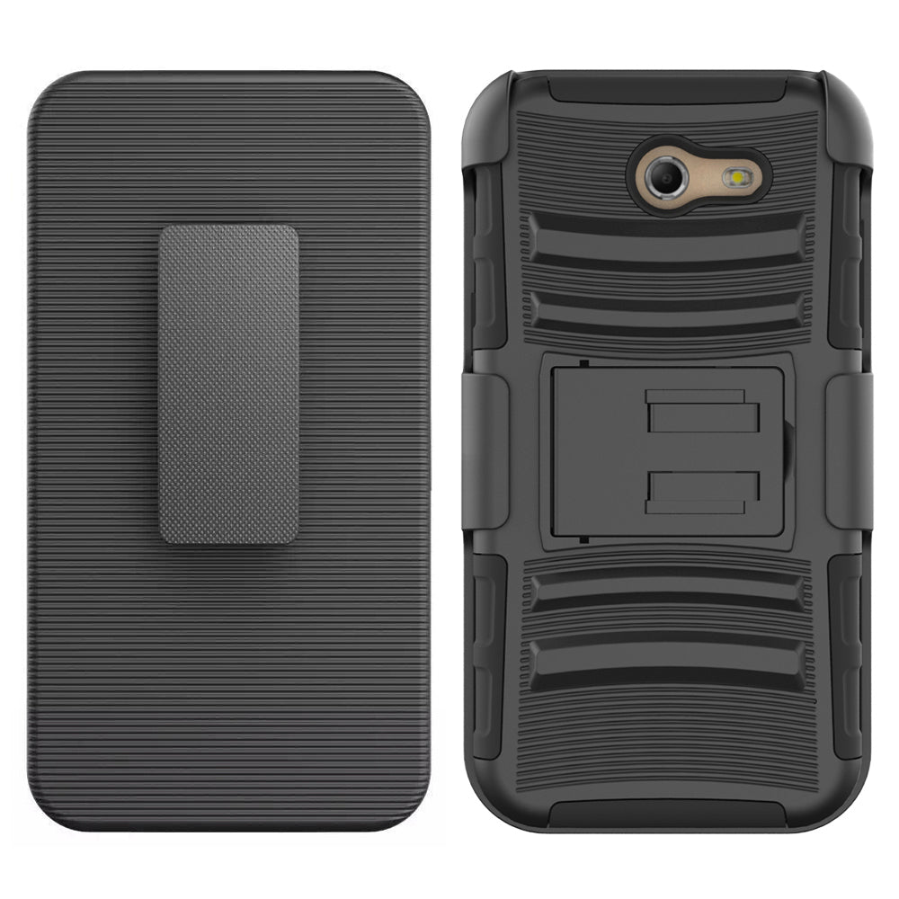 Samsung Galaxy J3 Emerge 2017 / J327P Armor Belt Clip Holster Case by Modes
