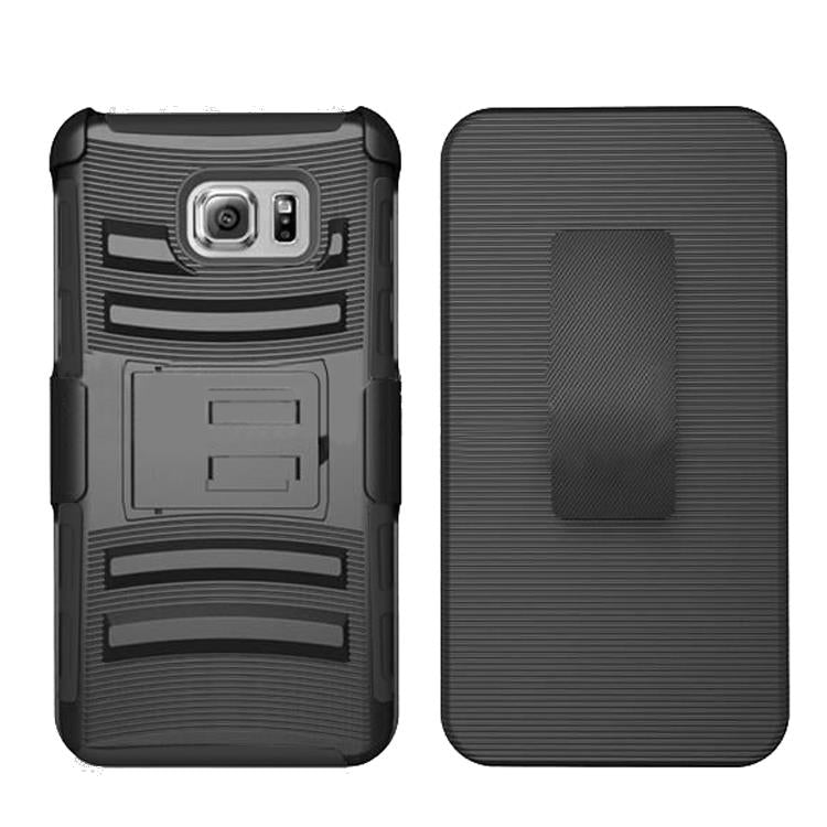 Samsung Galaxy S5 Armor Belt Clip Holster Case Black by Modes