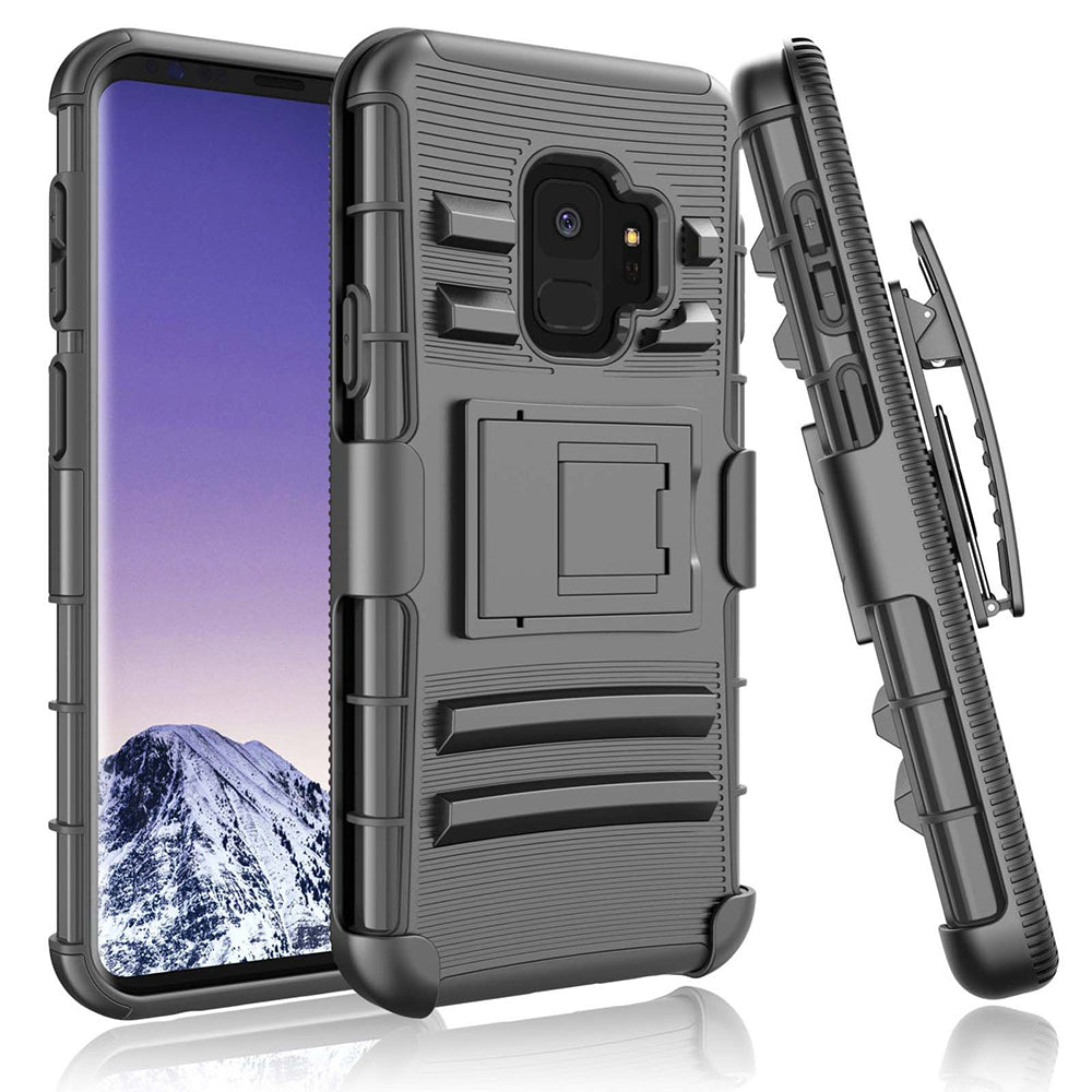 Samsung Galaxy S9 Armor Belt Clip Holster Case by Modes