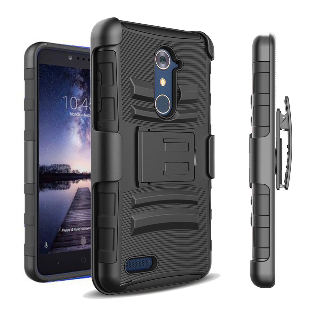 ZTE Max XL / N9560 Armor Belt Clip Holster Case by Modes