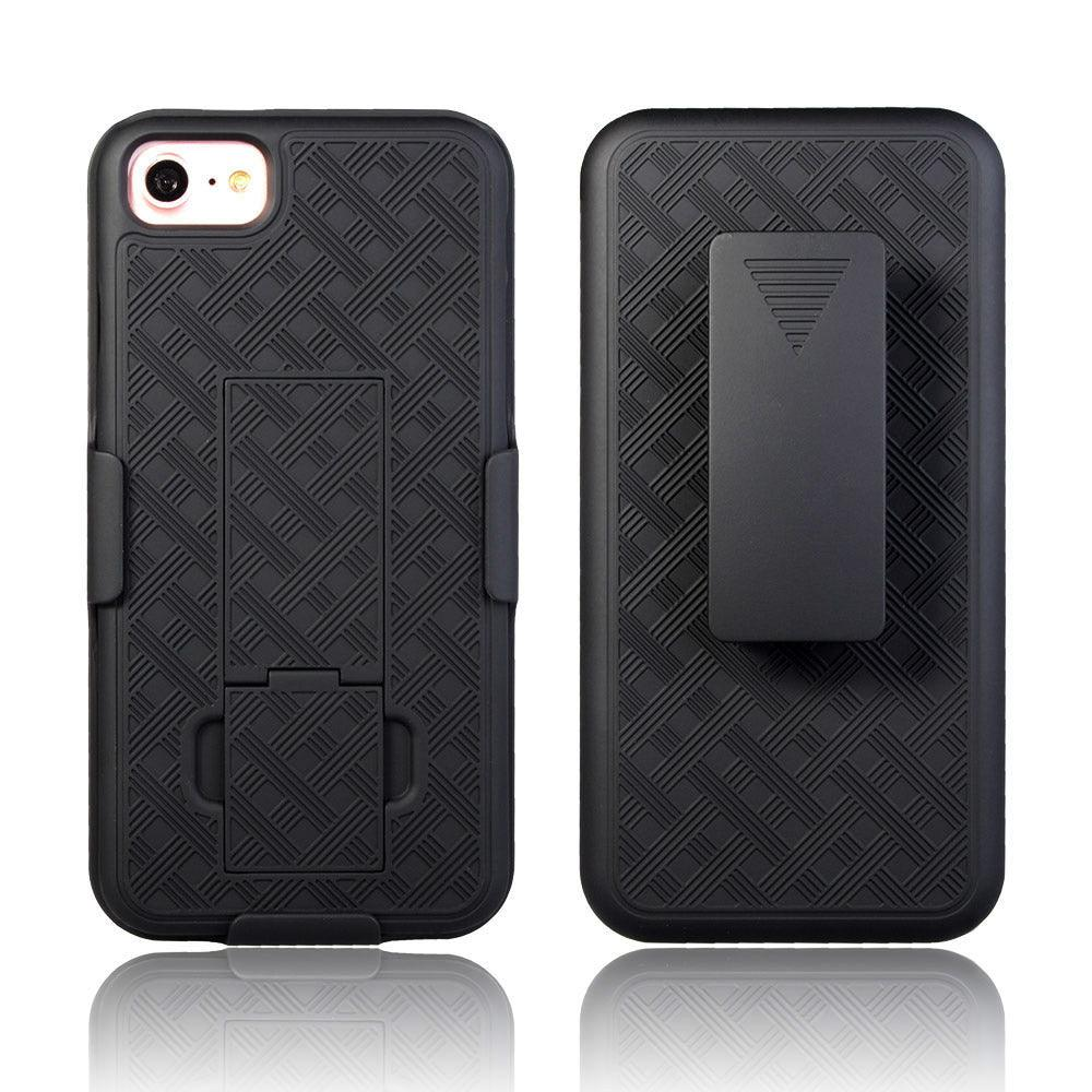 iPhone 8 / 7 Slim Hard Shell Holster Case with Kickstand by Modes