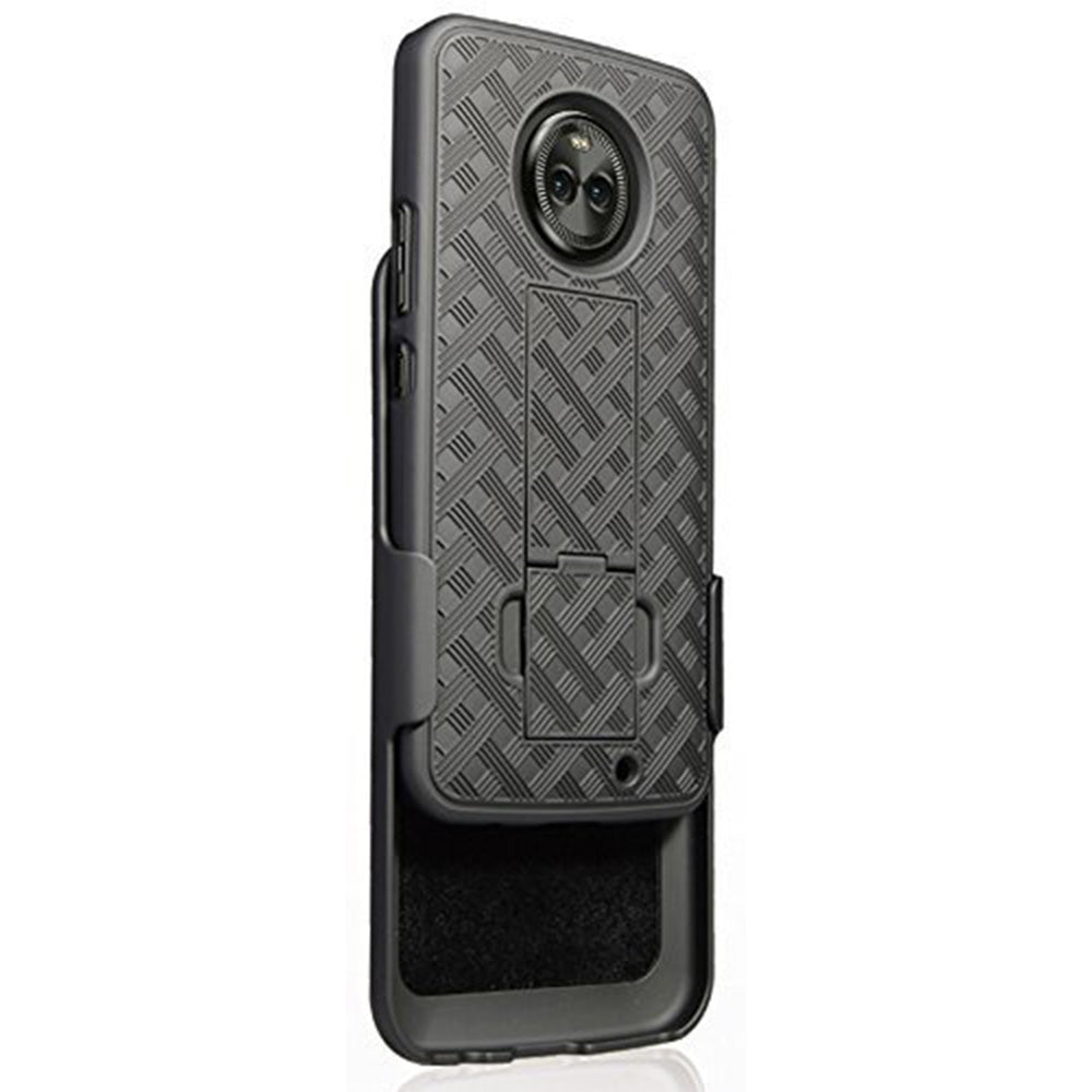 Motorola Moto Z2 Force Edition / XT1789 Slim Hard Shell Holster Case with Kickstand by Modes