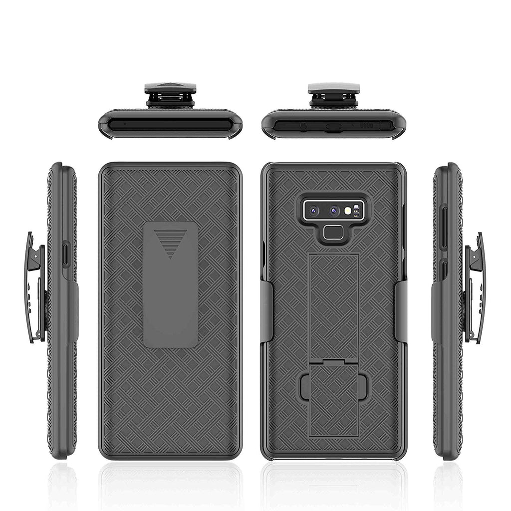 Samsung Galaxy Note 9 / N960 Slim Hard Shell Holster Case with Kickstand by Modes