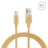 Apple iPhone 6 / 6S Plus USB Braided Round Data Charger Cable 4 Feet by Modes