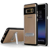 Samsung Galaxy Note 8 Slim Hybrid Transparent Bumper Shockproof Case with Kickstand by Modes