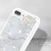 Apple iPhone 8 Plus / iPhone 7 Plus Marble Transparent Defender Armor Hybrid Case by Modes