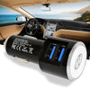 3.1A 2-in-1 Universal Dual USB Port Travel Car Charger With iPhone USB Cable by Modes
