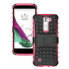 LG K7 / Tribute 5 TPU Slim Rugged Hybrid Stand Case by Modes