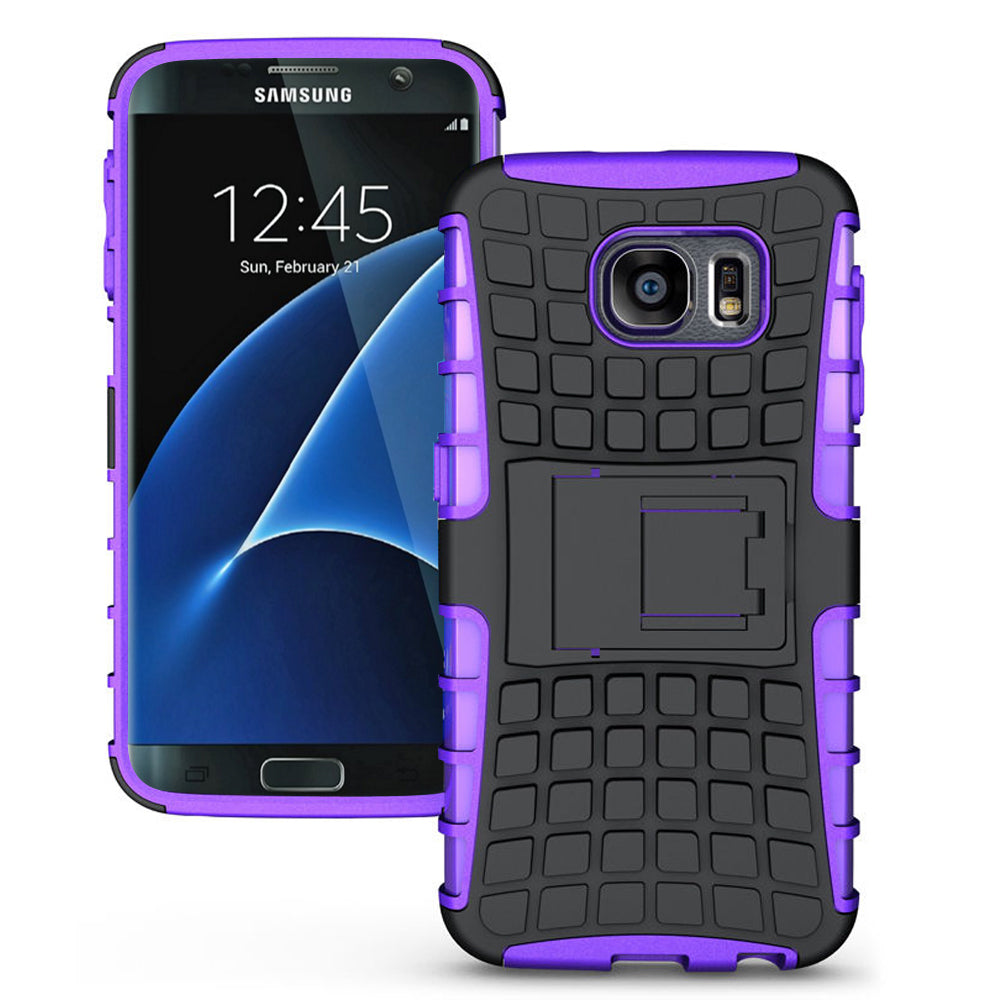 Samsung Galaxy S7 Edge Plus TPU Slim Rugged Hybrid Stand Case by Modes