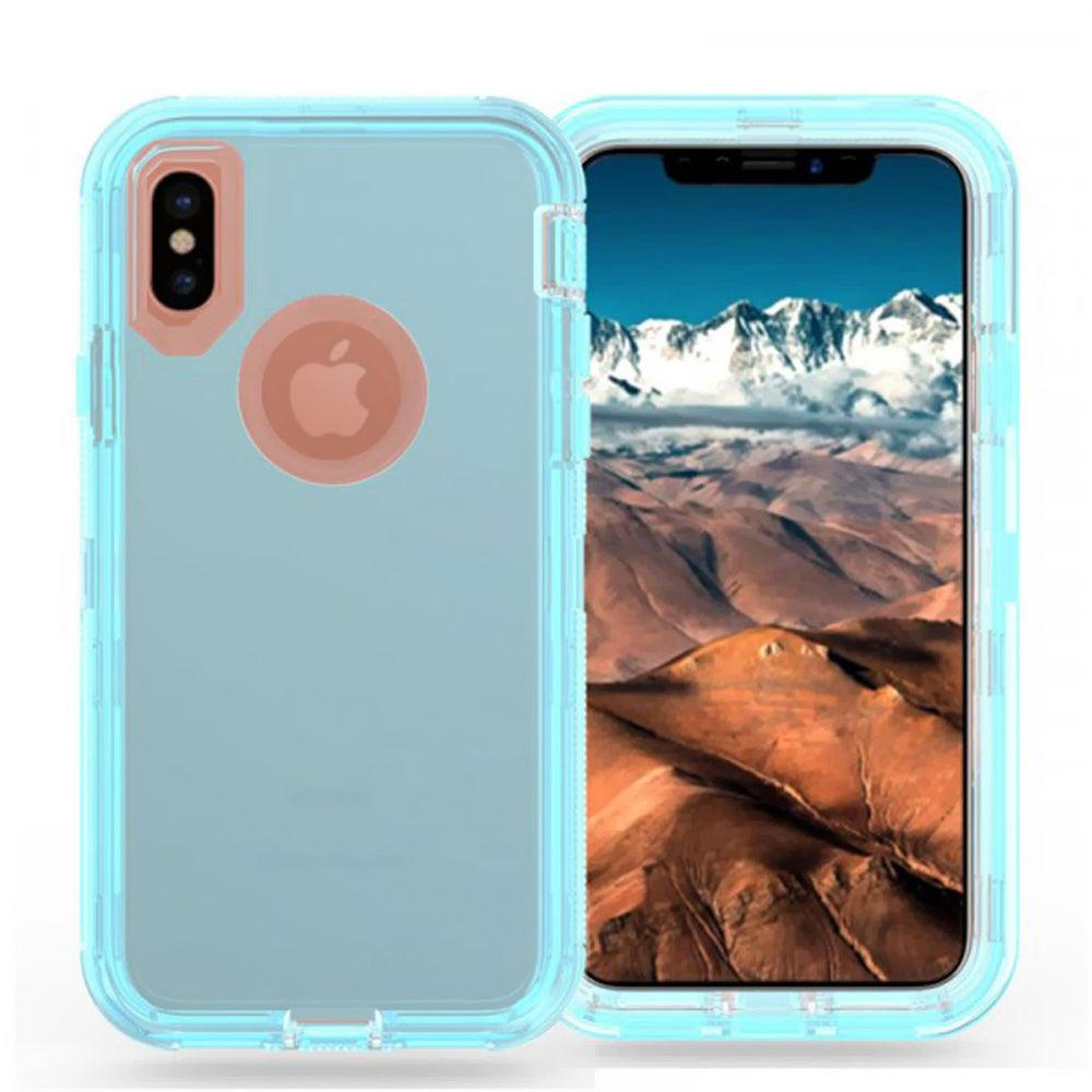 Apple iPhone X / 10 Transparent Defender Armor Hybrid Case by Modes