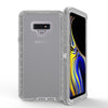 Samsung Galaxy Note 9 / N960 Transparent Defender Armor Hybrid Case Gray by Modes