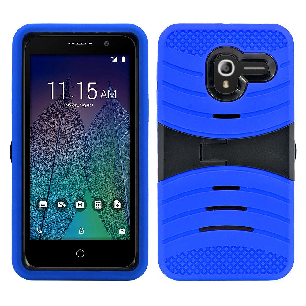 Alcatel Tru / Stellar / 5060 / POP 3 Hybrid Silicone Case Stand by Modes