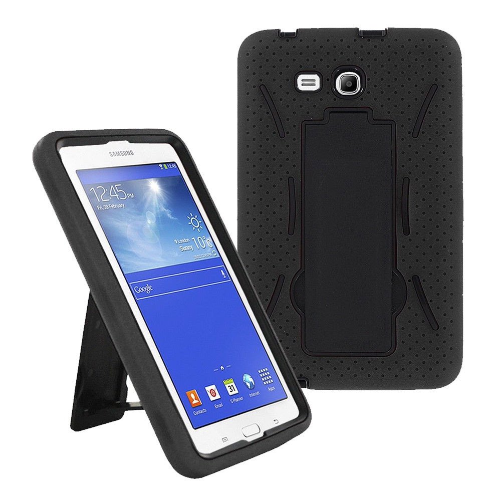 Samsung Galaxy Tab 3 Lite 7.0 / T110 Hybrid Silicone Case Stand by Modes