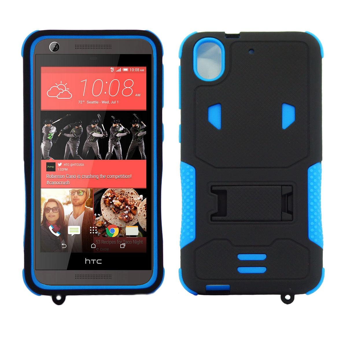 HTC Desire 626 / 626S Impact Silicone Case Dual Layer with Stand by Modes