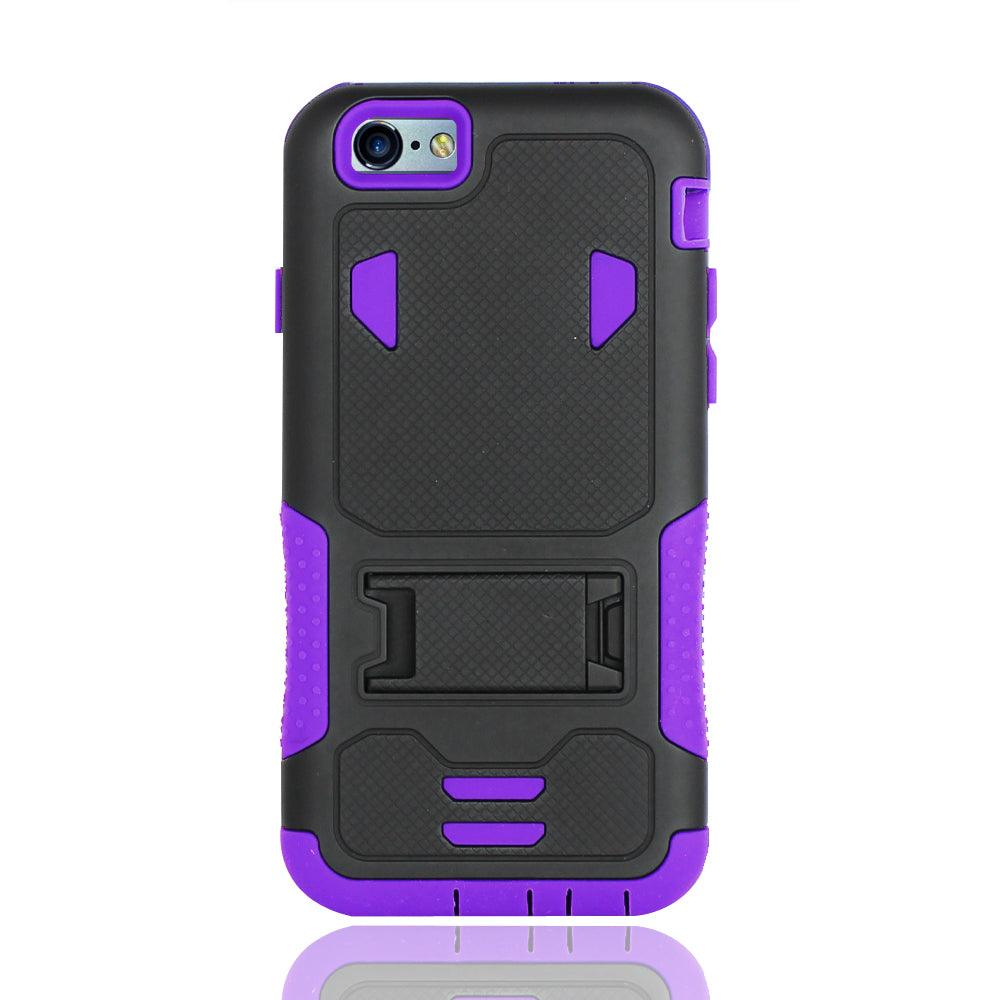 iPhone 6 / 6S Impact Silicone Case Dual Layer with Stand by Modes