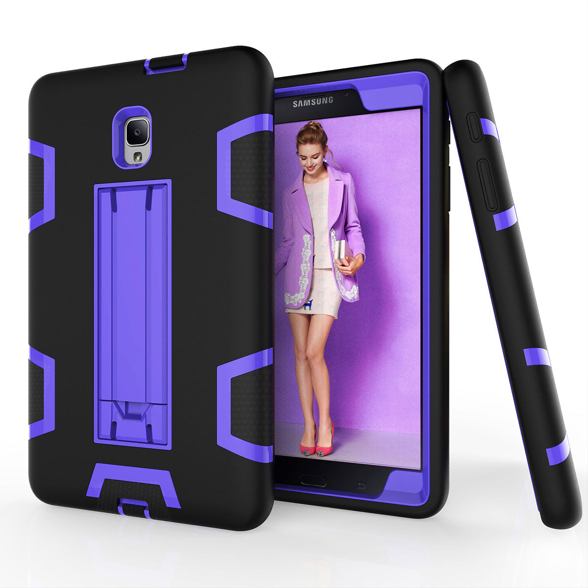 Samsung Galaxy Tab A 8.0 2017 / T380 / T385 Shockproof Duty Hard Stand Case by Modes