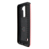 LG G Stylo 2 / Stylus 2 / LS775 Slim PC Brushed Metal Protective Credit Card Slot Case by Modes