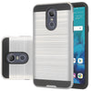 LG Stylo 4 Hybrid Brushed Metal Shockproof Tough Case by Modes