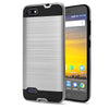 ZTE Blade Force / N9517 Hybrid Brushed Metal Shockproof Tough Case by Modes