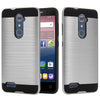 ZTE Zmax Pro / Z981 Hybrid Brushed Metal Shockproof Tough Case by Modes
