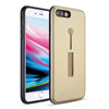 Apple iPhone 8 Plus / 7 Plus Material Protective Shockproof With Loop Kickstand Flexible Ring Case by Modes