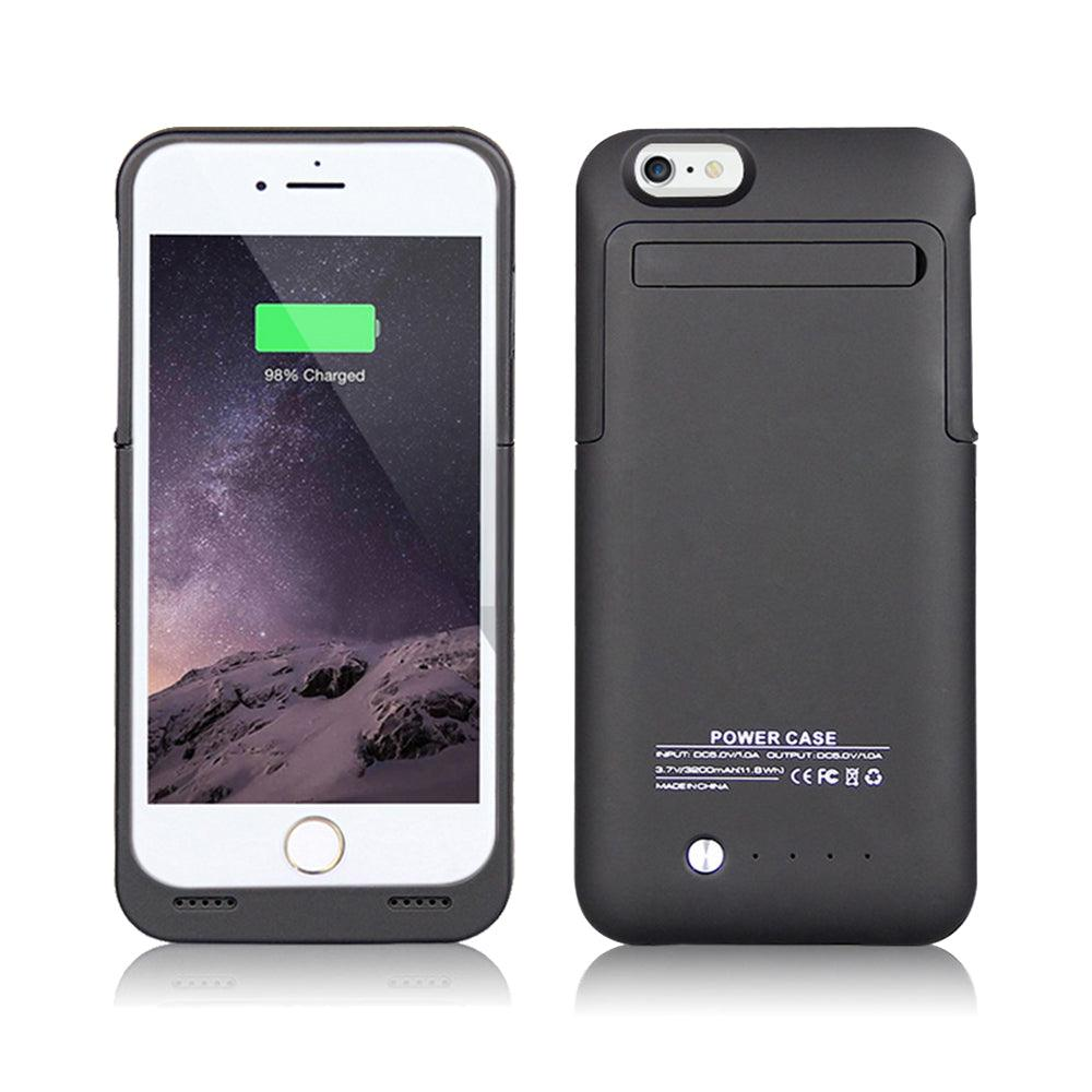iPhone 6 / 6S External Battery Case Backup Charger Power Bank 3500mAh Stand by Modes
