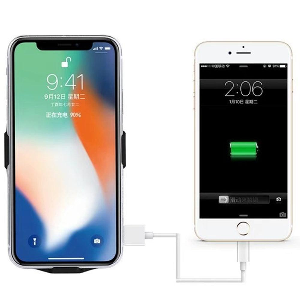 Apple iPhone X / 10 External Battery Case Backup Charger Power Bank 5000mAh Stand by Modes