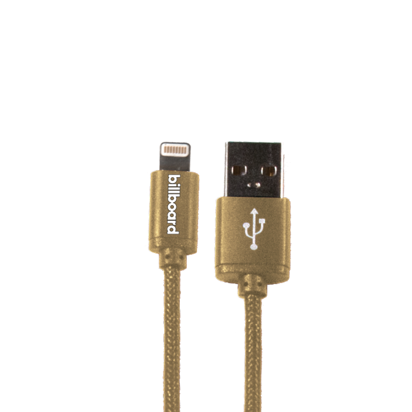 Reiko  6ft Gold iPod Fabric Cable