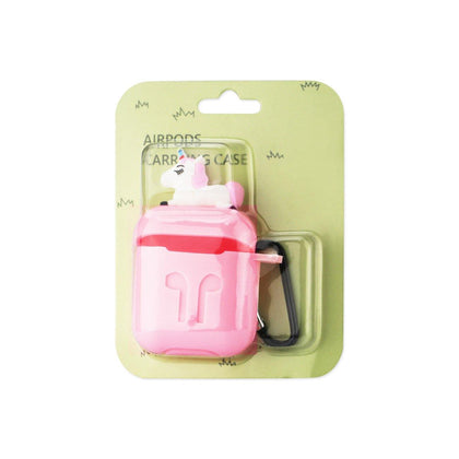 Reiko Silicone Case For Airpods In Pink - mobileiGo.com