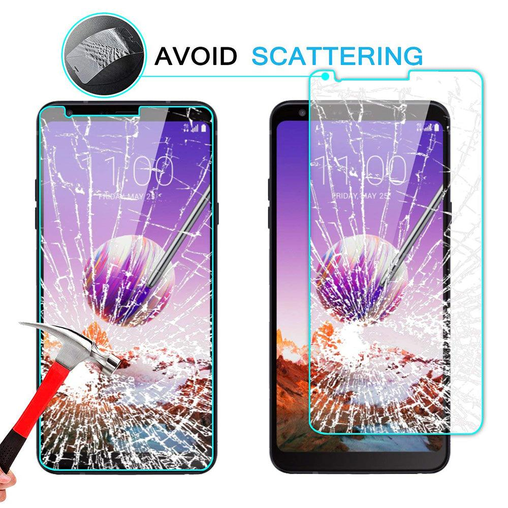 LG Stylo 4 Tempered Glass Screen Protector by Modes