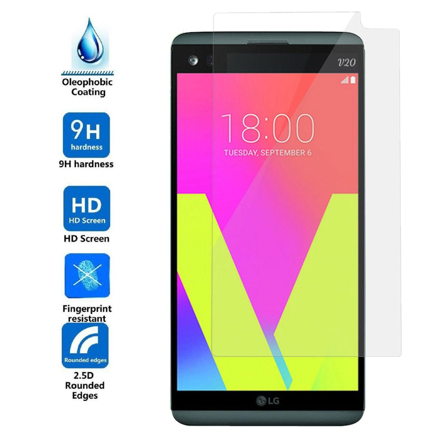 LG V20 / US996 Tempered Glass Screen Protector by Modes