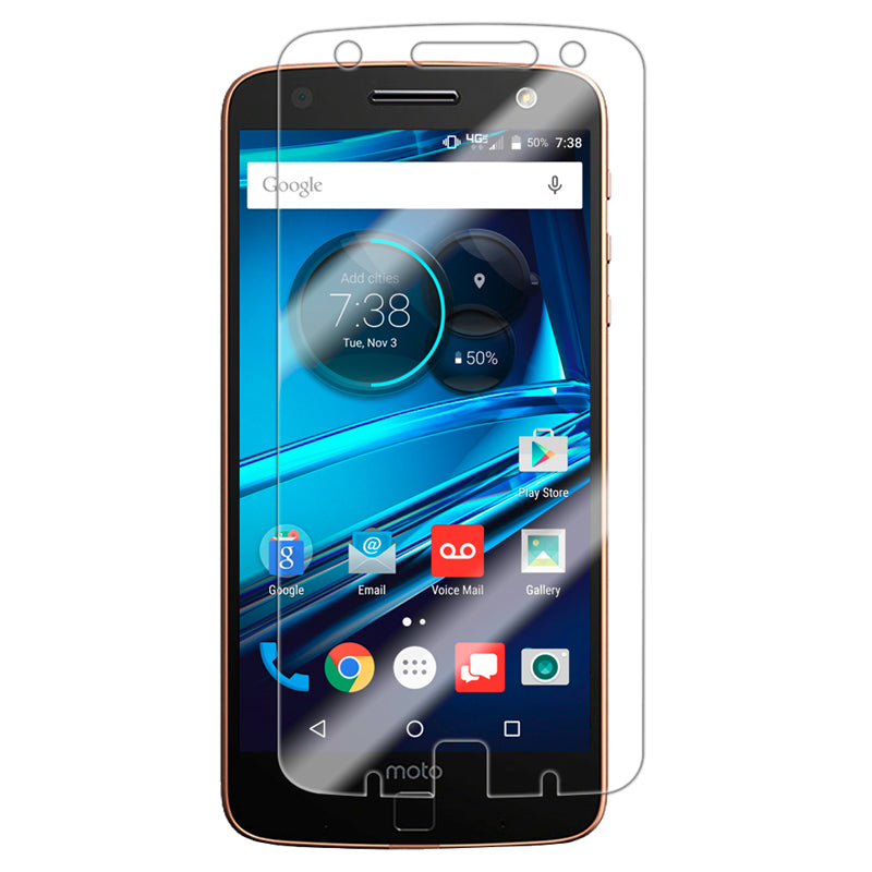 Motorola Moto Z Droid Edition Tempered Glass Screen Protector by Modes