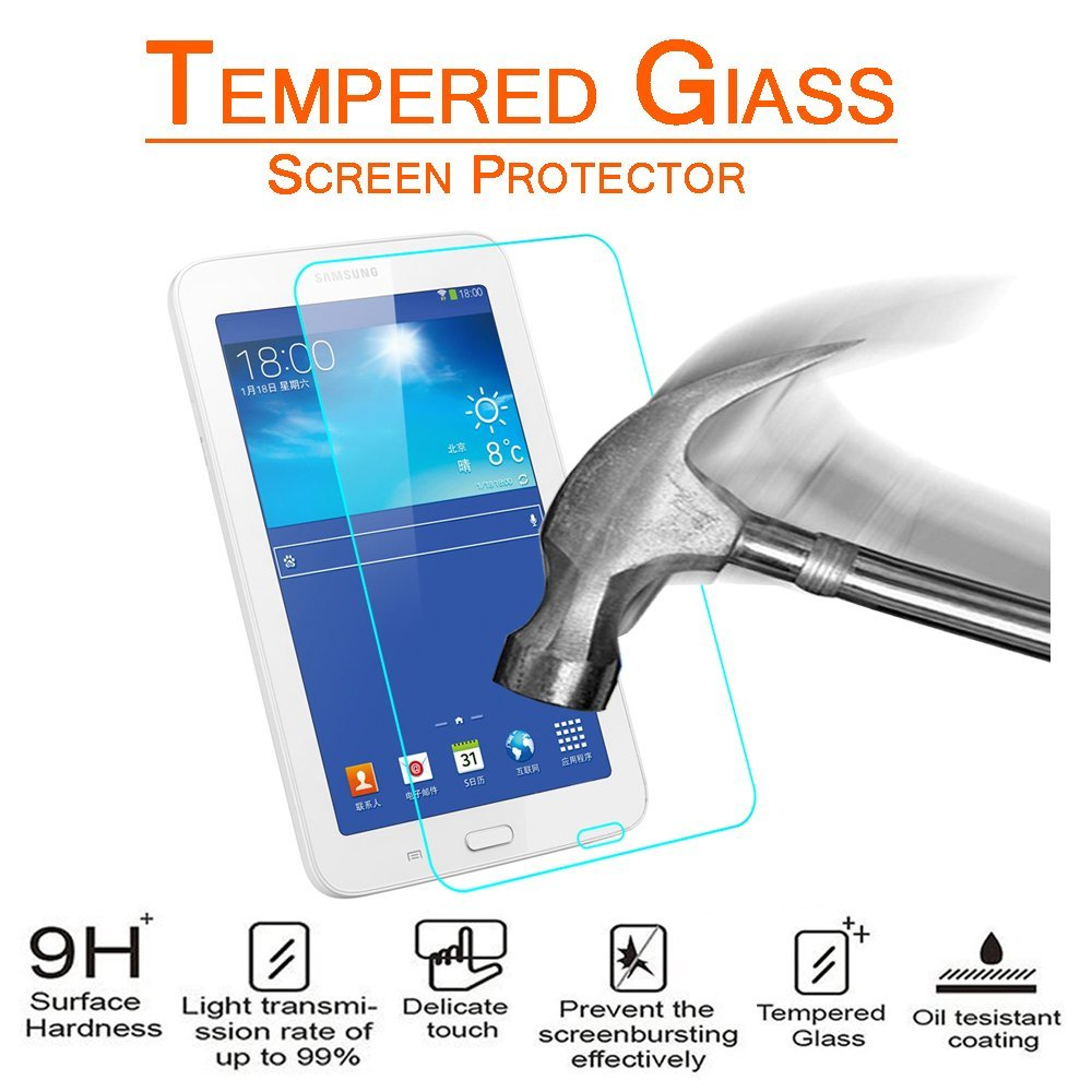 Samsung Galaxy Tab 3 Lite 7.0 / T110 Tempered Glass Screen Protector by Modes