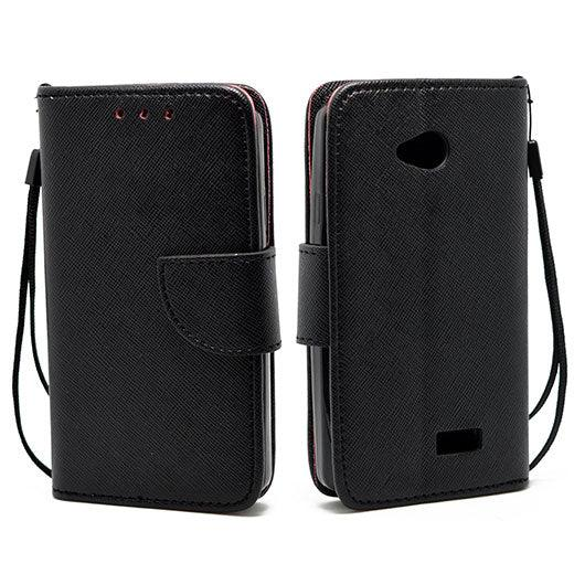 LG Tribute LS660 Leather Wallet Pouch Case by Modes
