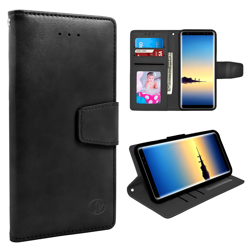 Samsung Galaxy Note 8 Folio Leather Wallet Pouch Case by Modes