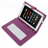 Universal 8inch Tablet Flip PU Leather Folio Keyboard Case Stand Cover by Modes