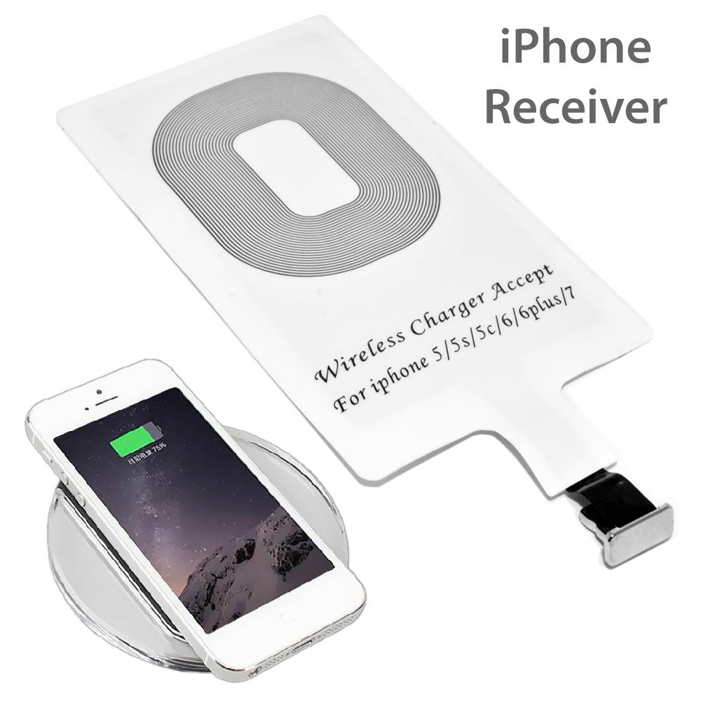 Apple iPhone 5/5S/5C/SE/6/6S/6Plus/6S Plus/7/7Plus Wireless Power Charger Charging Receiver Module Sticker WRIP002 by Modes