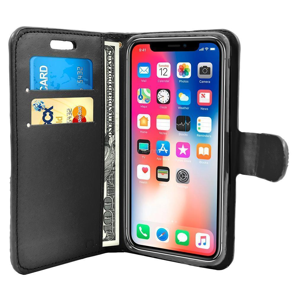 Apple iPhone X / 10 Diamond Leather Wallet Case by Modes