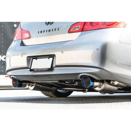 ARK GRiP Exhaust System | 07-15 Infiniti G35/G37 Sedan & 14-15 Q40