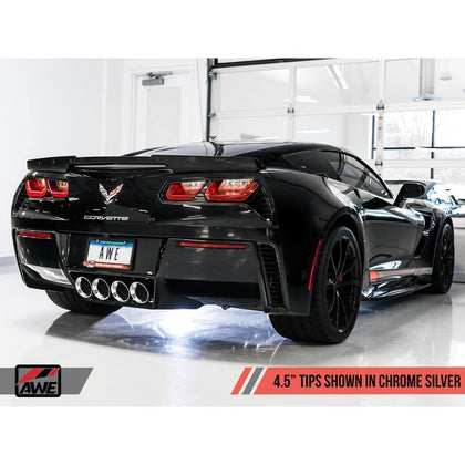 AWE Track Edition Valveback Exhaust | 2014-2019 CheVRolet Corvette C7 w/ AFM Valves