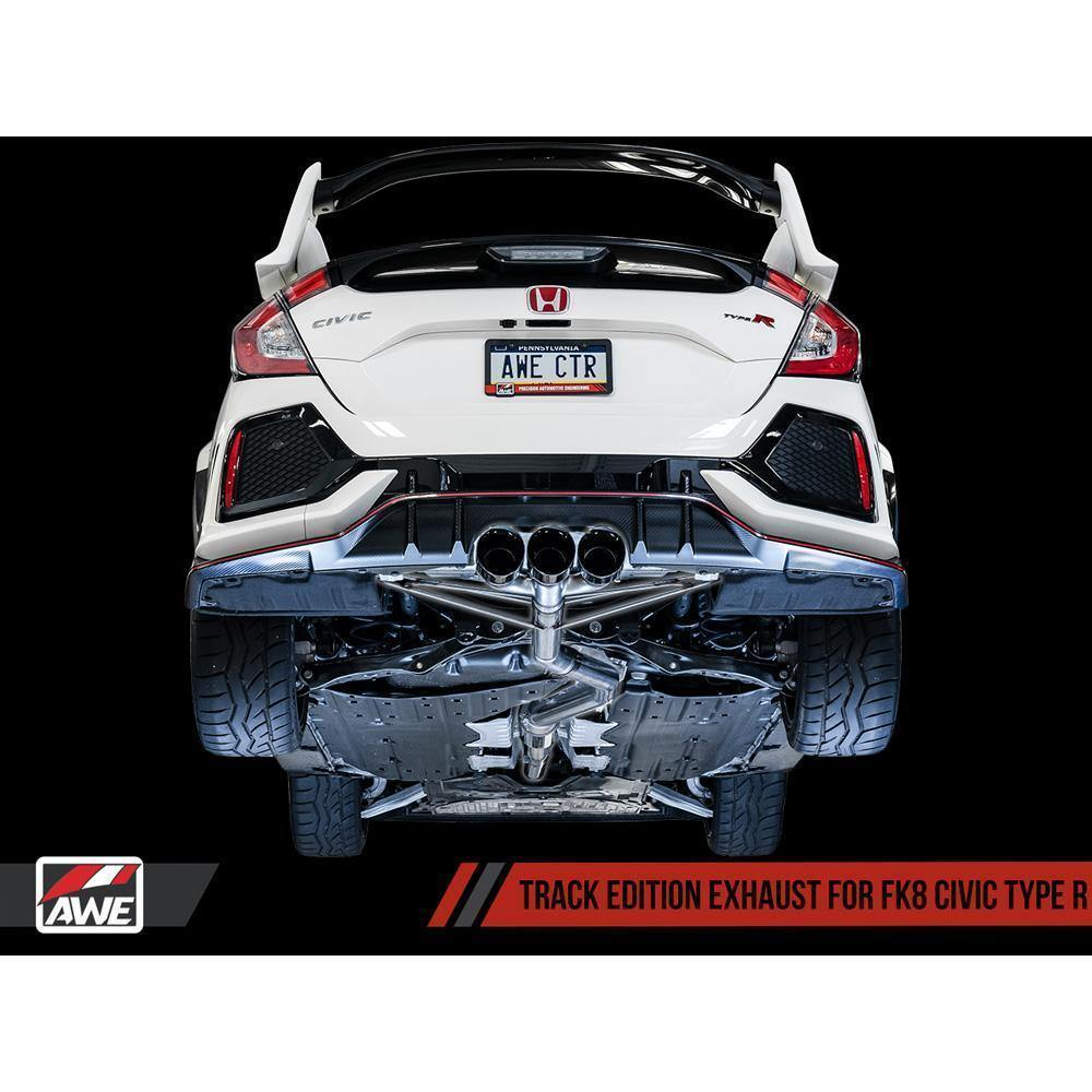 AWE Tuning Track Edition Exhaust | 2017-2021 Honda Civic Type-R FK8