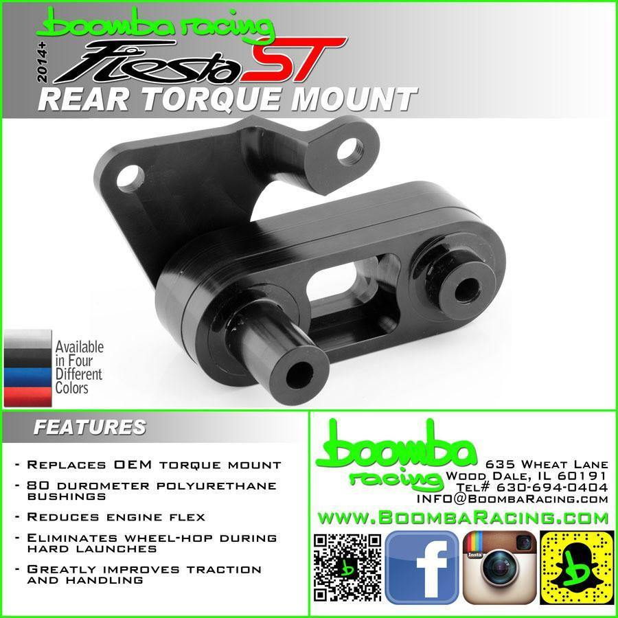 Boomba Racing Rear Motor Mount | 2014+ Ford Fiesta ST (026-00-001) - ***SCRATCH AND DENT*** - Returns For Sale