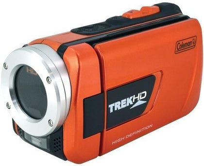 COLEMAN CVW16HD-O 16.0-Megapixel 1080p TrekHD Waterproof Digital Video Camcorder