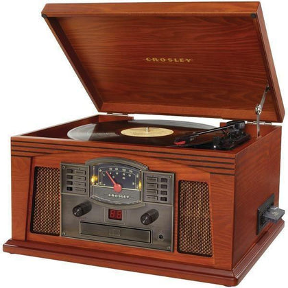 CROSLEY RADIO CR42C-PA Lancaster Musician Entertainment Centers (Paprika)