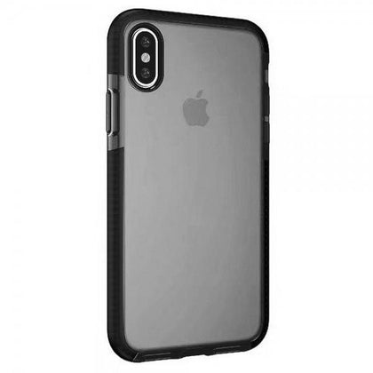 Crystal Clear Soft TPU Case for iPhone X: Slim Transparent Shockproof Drop Resistant (Clear)