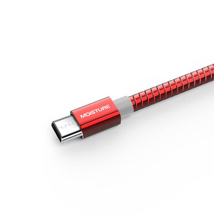 High Speed Micro Data Cable In Red